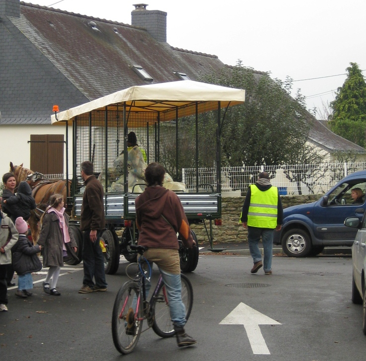 Collecte de sacs jaunes à Questembert