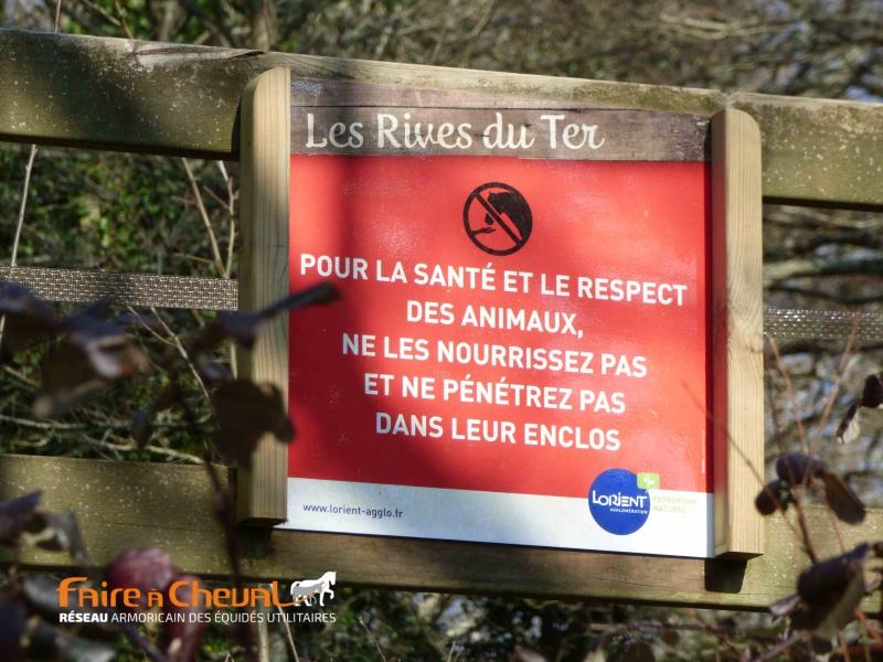Panneau du parc du Ter - Ploemeur